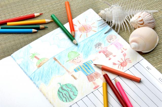 絵日記で楽しみながら幼児の思考を鍛えるポイント!ストーリーを引き出す質問のコツ。