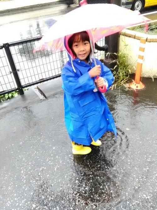 子供と雨の日の買い物。なかなか目的地に着けない(笑)こんなことから学ぶ自分のあり方