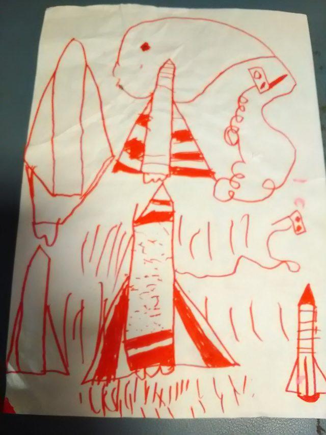 クリスマス向けに子供とロケットを作り!ペットボトルロケットの作り方は簡単
