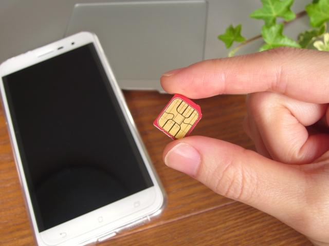 データ通信専用SIMで電話番号を取得し普通に携帯電話として使う方法