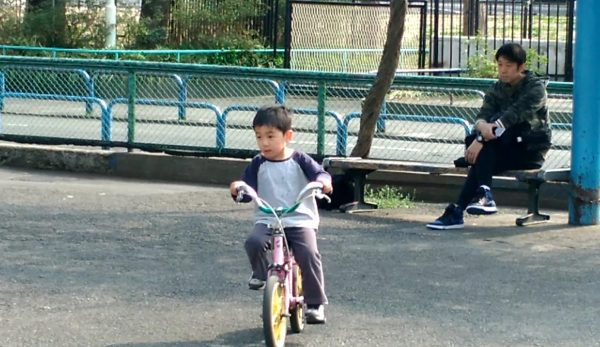 thumnail-bike-trainning-600x347 交通公園で4歳末っ子が自転車デビュー